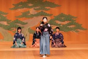 名古屋市立大学申楽之能倶楽部 「班女 舞アト」