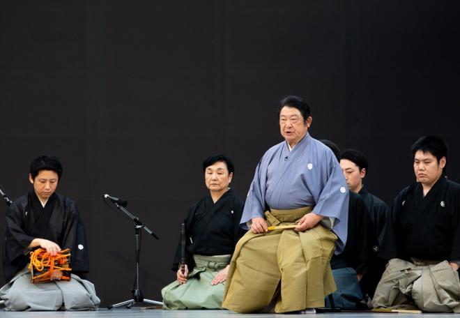 舞囃子「藤戸」